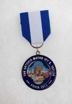Mayor Ivy Taylor's 2015 Fiesta Medal Photo: Juanito M Garza, San Antonio Express-Newss / San Antonio Express-News