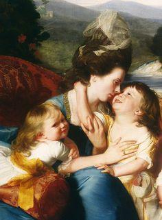 The Copley Family (detail) 1788 -- John Singleton Copley -- American -- Oil on canvas -- Museum of Fine Arts, Boston
