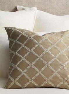 Add one of these pillows to a sofa or chair for an instant style update.