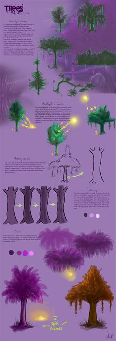 Trees Tutorial by Sadir89 on deviantART