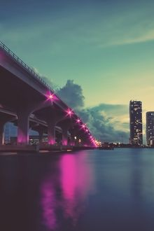 City Bridge iPhone Hd Wallpaper