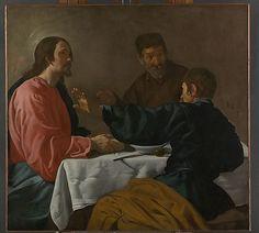 The Supper at Emmaus, Diego Velazquez,1622. España.