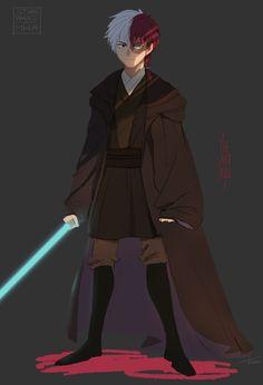 Todoroki Shouto | Crossover art, Star Wars.
