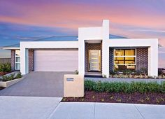 Sekisui Home Designs: Villa 200 - Ascent Facade. Visit www.localbuilders.com.au/builders_nsw.htm to find your ideal home design in New South Wales