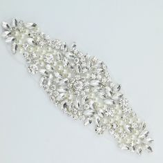 Crystal rhinestone applique - wholesale rhinestone applique - applique to  sew into your wedding dress- a799bcca667c