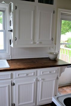 Idea If We Have To Keep The Soffit Kitchen Pinterest