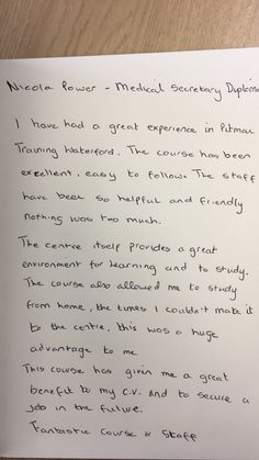 Pitman Training in Waterford offers a wide range of certified diplomas and training courses in Waterford. Training Courses, Kind Words, Career, Student, Sayings, Carrera, Nice Words, Lyrics, College Students