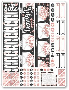 FEB Monthly View ... added to the shop! View/purchase at http://www.plannerpenny.com/products/feb-monthly-view-hugs-and-kisses-planner-stickers?utm_campaign=social_autopilot&utm_source=pin&utm_medium=pin