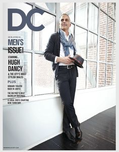 #DCStyleSyndicate Mark Del Rosso, COO of Audi North America, feat. in The Men's Issue of DC Modern Luxury Magazine wears a Prada cardigan, Versace pants, Rag & Bone scarf, hat by AllSaints Spitafields #DCStyle