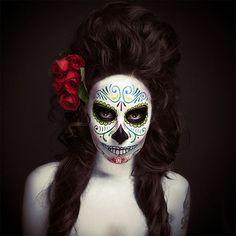 Maquiagem artística no dia dos mortos no México | Criatives | Blog Design, Inspirações, Tutoriais, Web Design