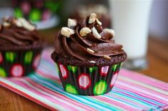 Double Chocolate Cupcakes with Dark Chocolate Buttercream | Tasty Kitchen: A Happy Recipe Community!