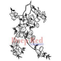 black cherry blossom card - Google Search