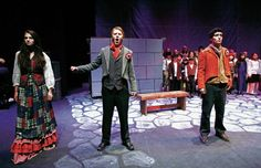 Newspaper article on the production I am doing costumes for!  New children's theater troupe stages 'Les Mis'
