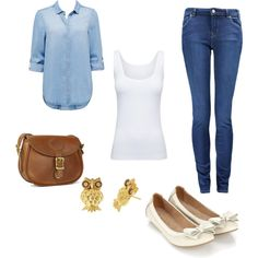 """jeans"" by summerwine17 on Polyvore"