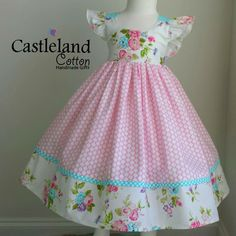 Girls Frock Design, Baby Dress Design, Baby Girl Dress Patterns, Baby Frocks Designs, Kids Frocks Design, Frocks For Girls, Little Girl Dresses, Sewing Baby Clothes, Cute Outfits For Kids