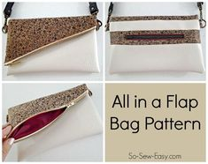 All in a Flap Bag | Craftsy