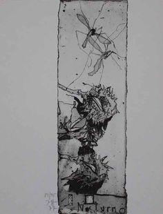 Horst Janssen: Nocturno - Galerie-F