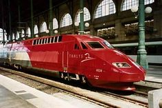 Thalys Train, Amsterdam to Paris
