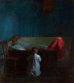 Evening prayers - Anna Ancher — Google Arts & Culture