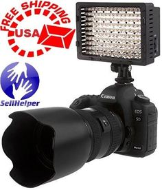 Neewer-160-LED-CN-160-Dimmable-Ultra-High-Power-Panel-Digital-Camera-NEW