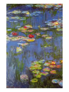 Water Lilies No. 3 Print by Claude Monet - AllPosters.ca