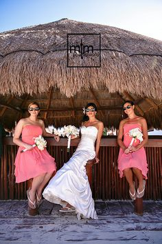 Mexico Wedding Bridal Party at NOW Sapphire ~ Girls relaxing before making their perfectly timed Grand Entrance! http://www.momentsthatmatterphotography.com/#!riviera-maya-resorts/lwgjq MTM Photography serves Riviera Maya coast from Cancun to Tulum! Wedding Photographer captures your BEST Wedding and Trash The Dress photos in Cancun, Playa del Carmen, Puerto Morelos, Puerto Aventuras and Tulum. Call us Now for an Awesome Photo Shoot ~ we've got YOU Covered!!!
