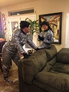 Todd And Margo Sauna Sweat Suit Great Lampoon Griswold