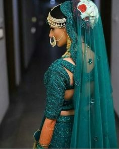 Looking for Bridal Lehenga for your wedding ? Dulhaniyaa curated the list of Best Bridal Wear Store with variety of Bridal Lehenga with their prices Bridal Photography, Photography Poses, Bridal Bun, Green Lehenga, Indian Bridal Hairstyles, Indian Designer Wear, Saree Blouse Designs, Bridal Lehenga, Indian Dresses