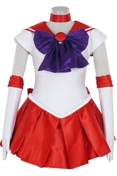 Sailor Moon Sailor Mars Rei Hino Dress Cosplay Costumes by lisalamonicao on Etsy https://www.etsy.com/listing/498685112/sailor-moon-sailor-mars-rei-hino-dress