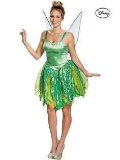 Cast a spell with Disney Fairies Tinker Bell Prestige Adult Costume. Hand Picked range of Tinkerbell Costumes for St.Patrick's Day, Halloween at PartyBell. Tinkerbell Halloween Costume, Halloween Kostüm, Halloween Costumes, Halloween Carnival, Women Halloween, White Costumes, Adult Costumes, Costumes For Women, Female Costumes