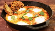 Eggs in Purgatory Recipe by Mario Batali - The Chew