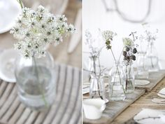 Nice and simple table flowers.
