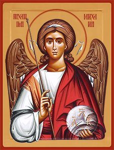 Paint Icon, Angel Statues, Archangel Michael, Religious Icons, Angels And Demons, Orthodox Icons, Patron Saints, Jesus Loves Me, St Michael