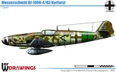 Military Art, Military History, Military Weapons, Luftwaffe, Bf 109 K4, War Thunder, Ww2 Planes, Ww2 Aircraft, Military Equipment