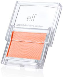ELF Natural Radiance Blush, in Flushed dupe mac dollymix All Things Beauty, Beauty Make Up, Diy Beauty, Beauty Hacks, Beauty Dupes, Drugstore Makeup, Blush Dupes, Mac Dupes, Elf Blush
