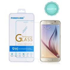 Galaxy S6 Screen Protector, Poweradd Premium 0.33mm, Bubble Free, 9H Hardness Te    eBay
