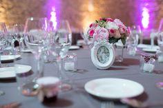 Photographe : Lili-pixel, décoration mariage, centre de table, centerpiece, wedding, grey pink, wedding