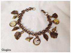 #klimt inspired bracelet, #art #handmade #giugizuaccessories. More accessories on my blog: http://giugizu.blogspot.it/2014/05/gustav-klimt-inspired-accessories.html