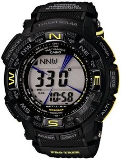 Casio PROTREK USARA Collaboration Model - Tough Solar MULTIBAND 6 PRW-2600UR-1JR Men's Watch (Japan Import) by PROTREK -- Awesome products selected by Anna Churchill
