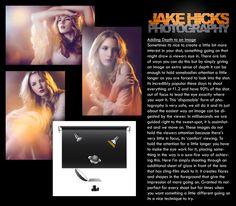 Adding Depth to an image- Jake Hicks Photography