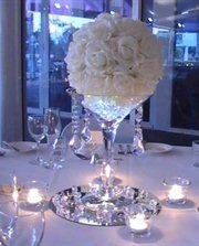 Brisbane Elegant Creations Qld wedding centre pieces