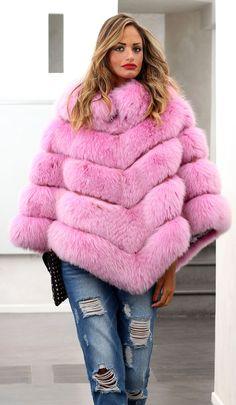 PELZ PONCHO FUCHS MILANO FASHION JACKE FUR COAT FOX PONCHO VOLPE FOURRURE лиса | eBay