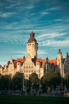 Leipzig, Germany  My beloved hometown for 4 years....wish I could get back!!!