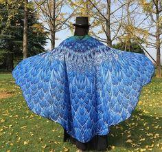New Female Butterfly Scarves Wraps Plus Size Shawls Women Long Beach Cover-ups 185*140cm Lady Beach Swimsuit Bikini Scarf Y10