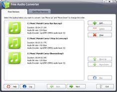 Free Audio Converter 2015 3.4.8 screenshot