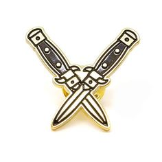 Knives Enamel Pin