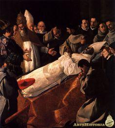 de Zurbarán, Francisco / Exposición del cuerpo de San Buenaventura