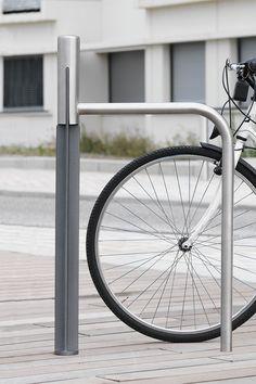 Baugewerbe Beidseitig Nutzbar Modern Und Elegant In Mode Kreativ Anlehnbügel Aus Stahlrundrohr Zum Einbetonieren Sport