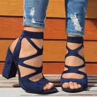 d4226af232e Women Fashion Lace Up High Heel Shoes Casual Sexy Bandage Party Shoes  Sandals