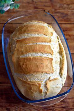 Chleb z garnka – Smaki na talerzu Wine Recipes, Baking Recipes, Bread Recipes, Good Food, Yummy Food, Breakfast For Dinner, Food Porn, Food And Drink, Tasty
